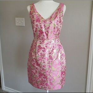FIRM $ Lilly Pulitzer Kiki Dress Metallic Jacquard